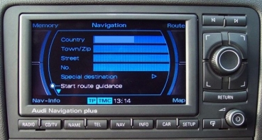 "Reparatur Audi Navigationssystem RNS-E ""TFT-Display Version 192 ... erneuern"""