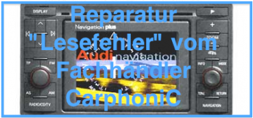 "Reparatur Audi Navigation Plus / RNS-D / RNS LOW ""TFT-Display erneuern"""