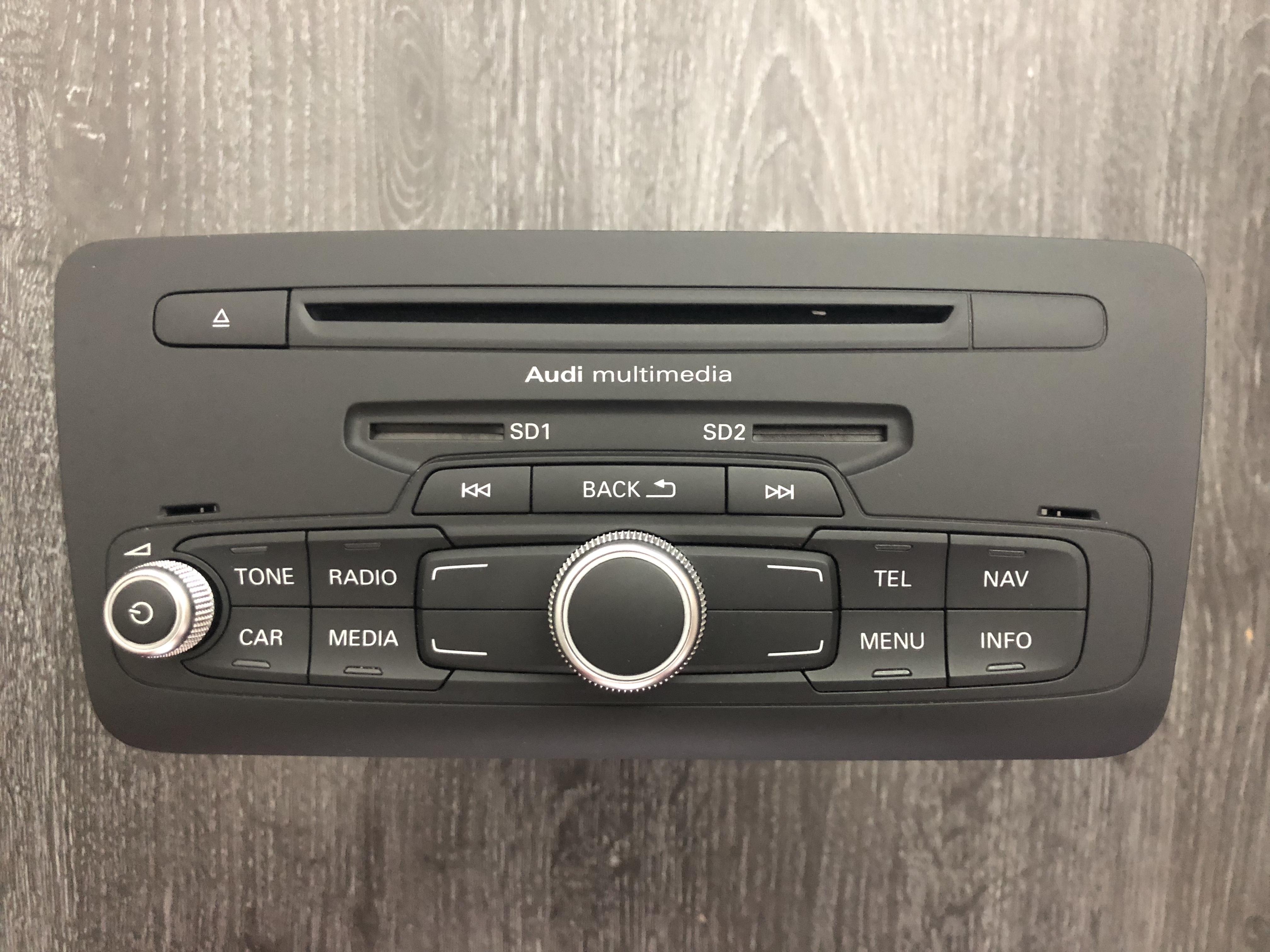 Reparatur Audi A1 Q3 8X0 / 8U0 RMC Cnct mit oder ohne Navi - Multimedia  mittlerer Drehknopf - OK-Bestätigungstaste defekt