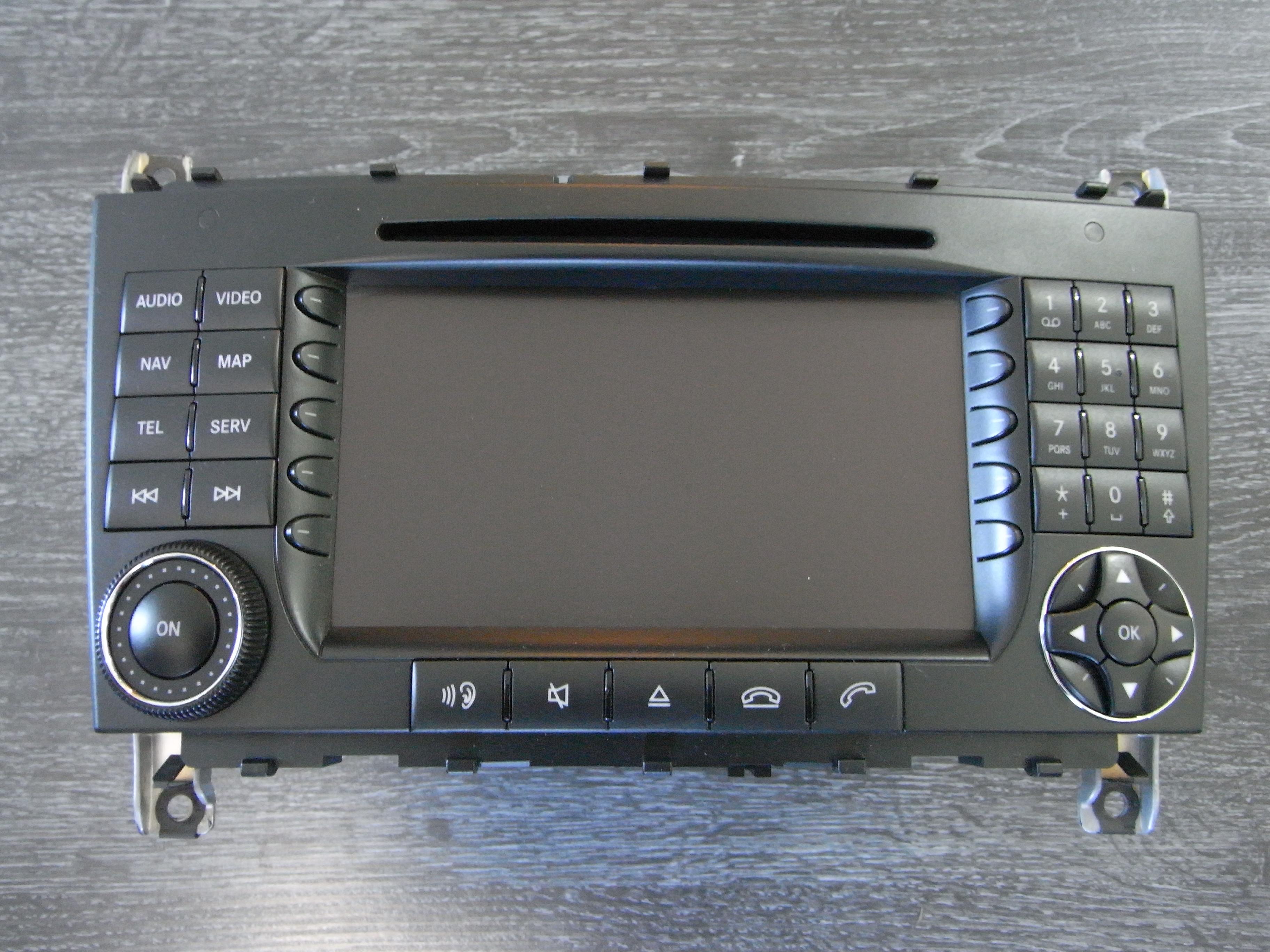 Reparatur Mercedes Benz Comand APS / NTG2 Navigationssystem CD /  DVD-Lesefehler / Laufwerksreparatur