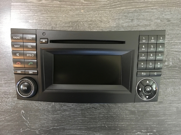 "Reparatur Mercedes Benz HeadUnit / Audio20 APS / A/B/CLS/SL/ML/SLK/CL/E-Klasse ""LCD / Display erneuern"""